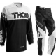 THOR S16 PHASE MOTOCROSS PANTS & JERSEY COMBO 2016 BLACK/WHITE