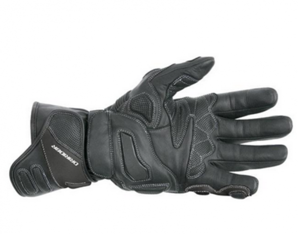 black gloves with lining