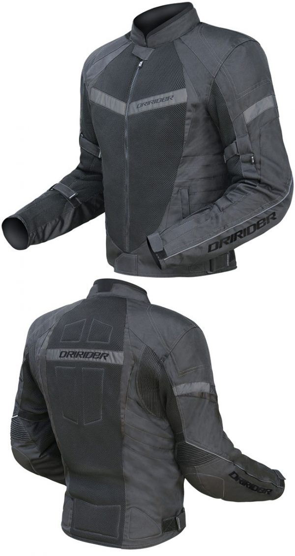 dririder jacket black BBB