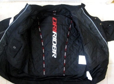 dririder jacket black