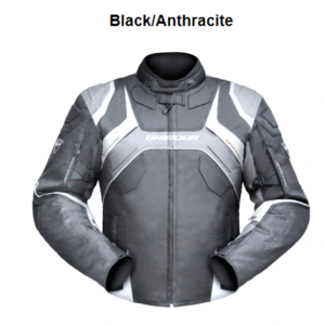 ANTHRACIT JACKET FOR MOTORCYCLE
