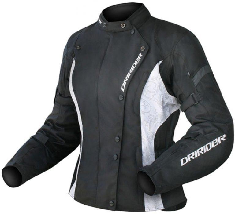 DRIRIDER VIVID LADIES MOTORCYCLE JACKET (BLACK/WHITE) - image DRIRIDER-VIVID-LADIES-MOTORCYCLE-JACKET-BLACK-WHITE-1-768x701 on https://www.bargainbikebits.com.au