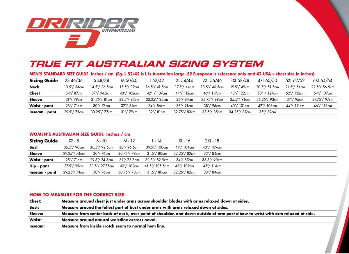 dririder-measurement