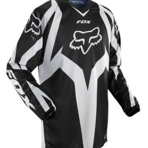 FOX HC RACE MOTOCROSS JERSEY, BLACK/WHITE