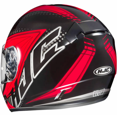 voltage motorcycle helmet red