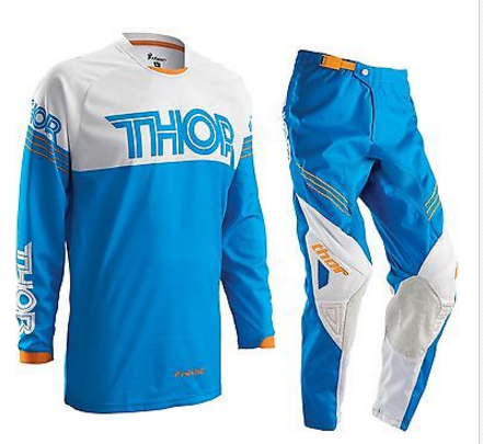 THOR S16 PHASE MOTOCROSS PANTS & JERSEY COMBO BLUE/WHITE/ KTM ORANGE - image THOR-S16-PHASE-MOTOCROSS-PANTS-JERSEY-COMBO-2016-BLUE on https://www.bargainbikebits.com.au