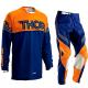 THOR S16 PHASE MOTOCROSS PANTS & JERSEY COMBO 2016 KTM ORANGE NAVY