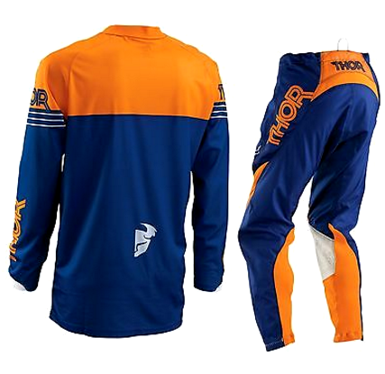 THOR S16 PHASE MOTOCROSS PANTS & JERSEY COMBO KTM ORANGE/NAVY - image THOR-S16-PHASE-MOTOCROSS-PANTS-JERSEY-COMBO-2016-KTM-ORANGE-NAVY-back on https://www.bargainbikebits.com.au
