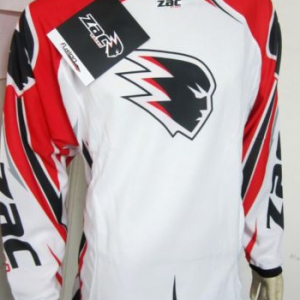 ZAC SPEED MOTOCROSS JERSEY HONDA RED/WHITE
