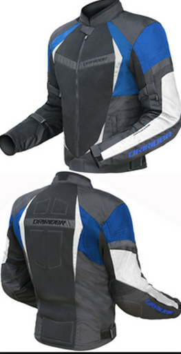 DRIRIDER AIR RIDE 2 VENTED MOTORCYCLE JACKET (BLUE) CLEARANCE - image air_ride_2_blue_frt_back__03988.1476611637.386.513 on https://www.bargainbikebits.com.au