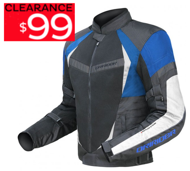 DRIRIDER AIR RIDE 2 VENTED MOTORCYCLE JACKET (BLUE) CLEARANCE - image air_ride_blue..__42710.1476611618.386.513 on https://www.bargainbikebits.com.au