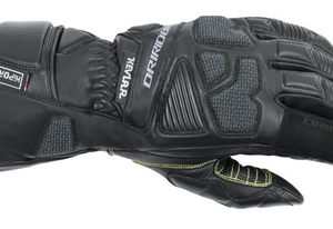 MENS MOTORCYCLE WATERPROOF GLOVES BLACK
