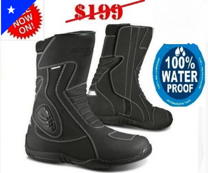 DRIRIDER STORM WATERPROOF MOTORCYCLE TOURING BOOTS - image storm-boots on https://www.bargainbikebits.com.au