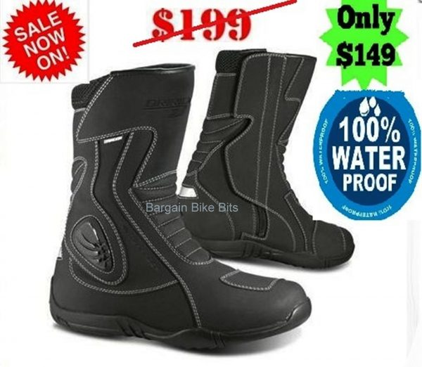 DRIRIDER STORM WATERPROOF MOTORCYCLE TOURING BOOTS - image stormbbb-600x522 on https://www.bargainbikebits.com.au