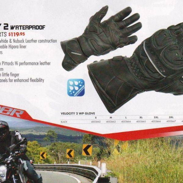 DRIRIDER VELOCITY 2 MOTORCYCLE WATERPROOF WINTER GLOVES - image velocity_2_wp_002__63180.1458268312.1280.1280-600x600 on https://www.bargainbikebits.com.au
