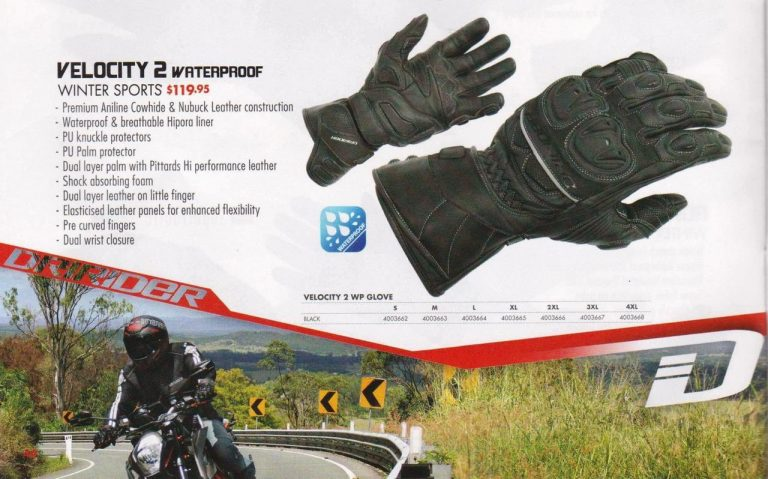 DRIRIDER VELOCITY 2 MOTORCYCLE WATERPROOF WINTER GLOVES - image velocity_2_wp_002__63180.1458268312.1280.1280-768x479 on https://www.bargainbikebits.com.au