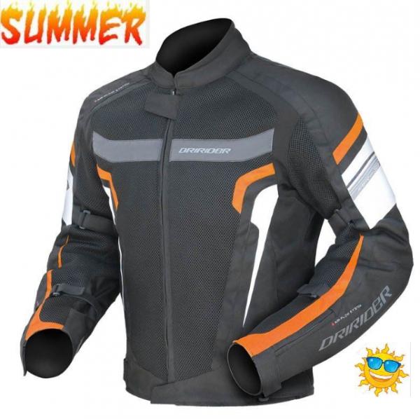 black orange jacket