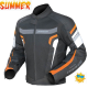 DRIRIDER AIR RIDE 3 VENTED MOTORCYCLE JACKET (Red/black) - image black-orange-80x80 on https://www.bargainbikebits.com.au