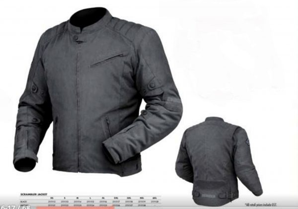 Motorcycle Jacket Classic Black