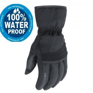 Dririder 'Storm 2' Waterproof Leather/Cordura Motorcycle Gloves - image Tour-Rain-300x300 on https://www.bargainbikebits.com.au