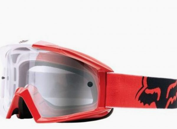 FOX Motocross Dirt Bike Off Road goggles Honda Red - image red-600x439 on https://www.bargainbikebits.com.au
