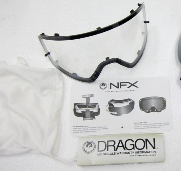 Dragon NFX Frameless Motocross Goggles
