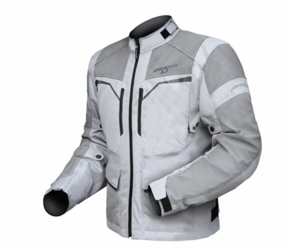 Dririder Comet Xenon Motorcycle Jacket Silver