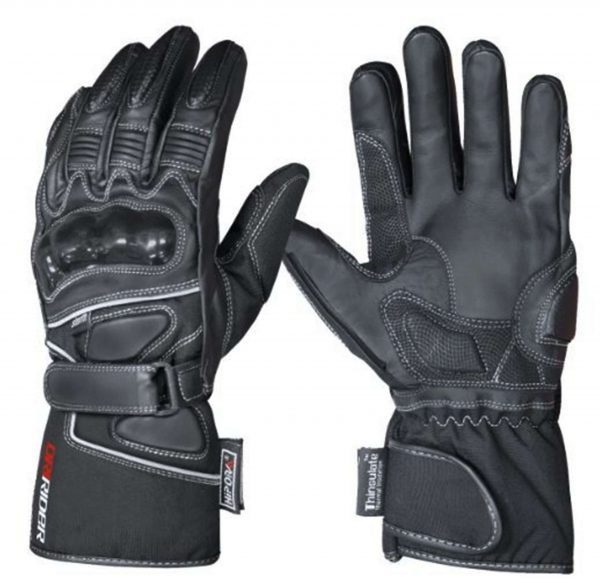 Dririder 'Storm 2' Waterproof Leather/Cordura Motorcycle Gloves - image storm-2-600x583 on https://www.bargainbikebits.com.au
