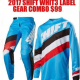 SHIFT Whit 3 Motocross Pants & Jersey Combo blue