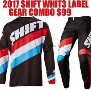 SHIFT Whit 3 Motocross Pants & Jersey Combo