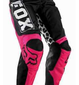 Fox Girls Youth Kids motocross pants & jersey combo (pink/black) - image 7-277x300 on https://www.bargainbikebits.com.au