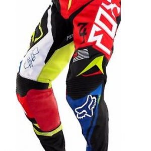 Fox Girls Youth Kids motocross pants & jersey combo (pink/black) - image 8-300x300 on https://www.bargainbikebits.com.au