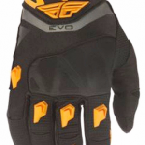 Fly Evo Motocross gloves black/orange