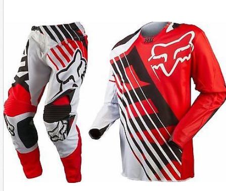 Fox 360 Savant Motocross pants & jersey combo Honda Red #30 - image Fox-savant-red on https://www.bargainbikebits.com.au