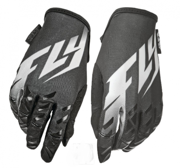 Fly Kinetic motocross gloves (black) - image fly-gloves-blk-600x560 on https://www.bargainbikebits.com.au