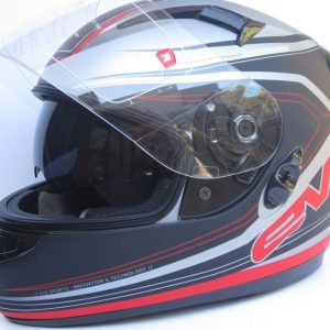 HJC CS12N MOTORCYCLE ROAD HELMET GLOSS BLACK - image 2-300x300 on https://www.bargainbikebits.com.au