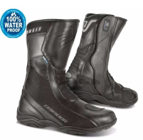 DRIRIDER AIR TECH motorcycle boots Waterproof - image Capture on https://www.bargainbikebits.com.au