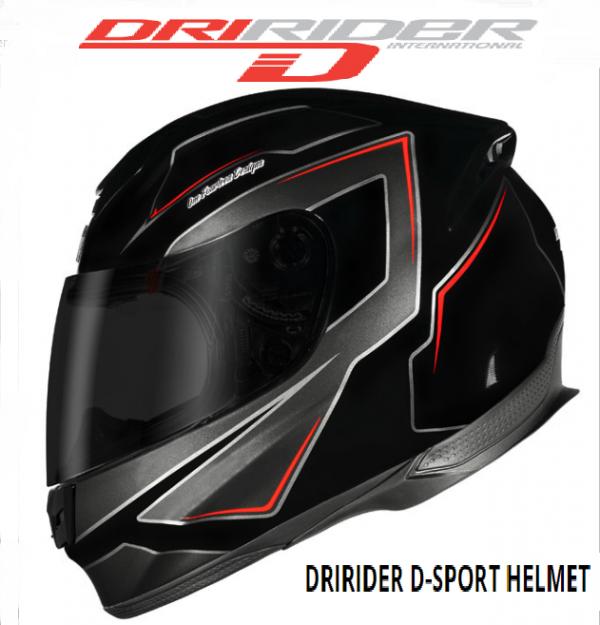 DRIRIDER D-SPORT MOTORCYCLE HELMET