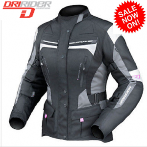 DRIRIDER COMPASS 2 Motorcycle Jacket HI VIZ Fluoro  Yellow - image ladies-Apex-4-300x300 on https://www.bargainbikebits.com.au