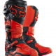 1 pair of Motocross boots orange