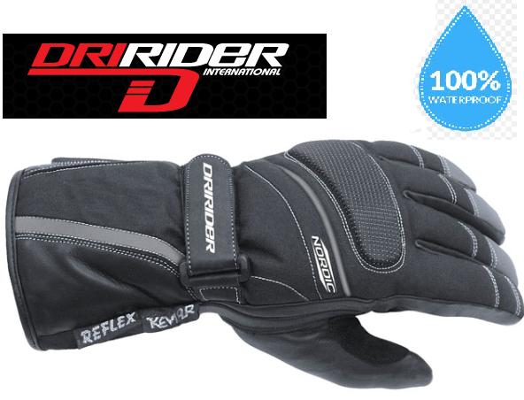 Nordic Waterproof Motorcycle Gloves