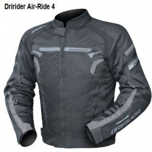 air ride 4 grey Motorcycle Jacket
