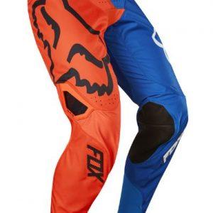 Fox pants orange and blue