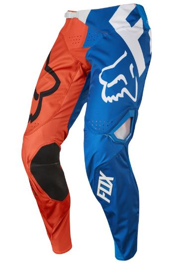 Motocross pants red and blue