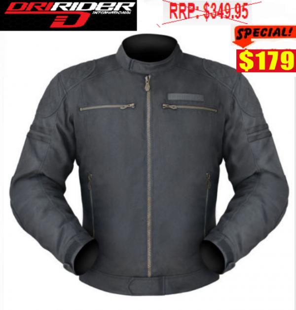 Dririder Trophy Motorcycle Retro Casual Jacket - image Trophy-179-600x627 on https://www.bargainbikebits.com.au
