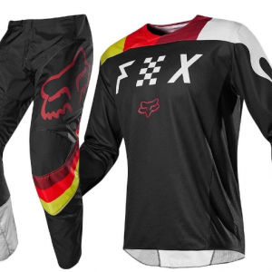 FOX HC RACE MOTOCROSS JERSEY, BLACK/WHITE - image 1-1-300x300 on https://www.bargainbikebits.com.au