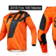 Youth Kids motocross pants & jersey combo (KTM orange)