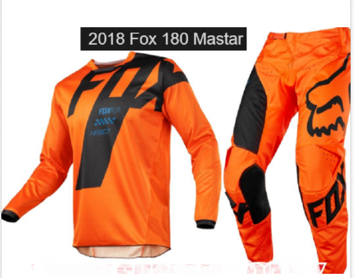 Youth Kids motocross pants & jersey combo (KTM orange)