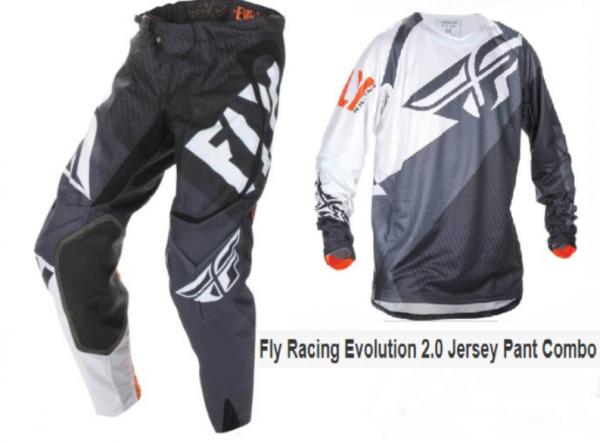 Fly Evo 2.0 Motocross Pants & Jersey Combo Set (KTM orange/white) - image blk-9-600x443 on https://www.bargainbikebits.com.au