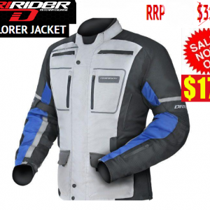 Dririder Explorer Motorcycle Jacket blue